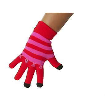 LOL Flap gloves red/pink