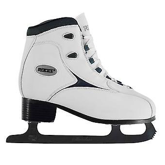 Laço de patins de gelo RFG1 Roces Womens sapatos amortecido tornozelo acolchoada colar clássico