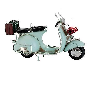 Model Retro Scooter Lichtblauw
