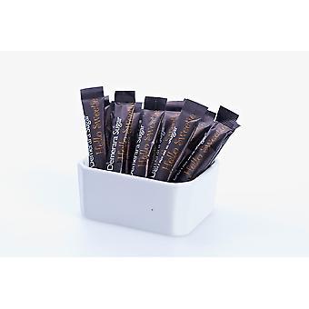 Land-Reihe brauner Zuckersticks