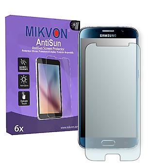 Samsung Galaxy S6 Screen Protector - Mikvon AntiSun (Retail Package with accessories) (reduced foil)
