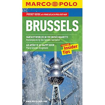 Brussels Marco Polo Guide by Marco Polo - 9783829706810 Book