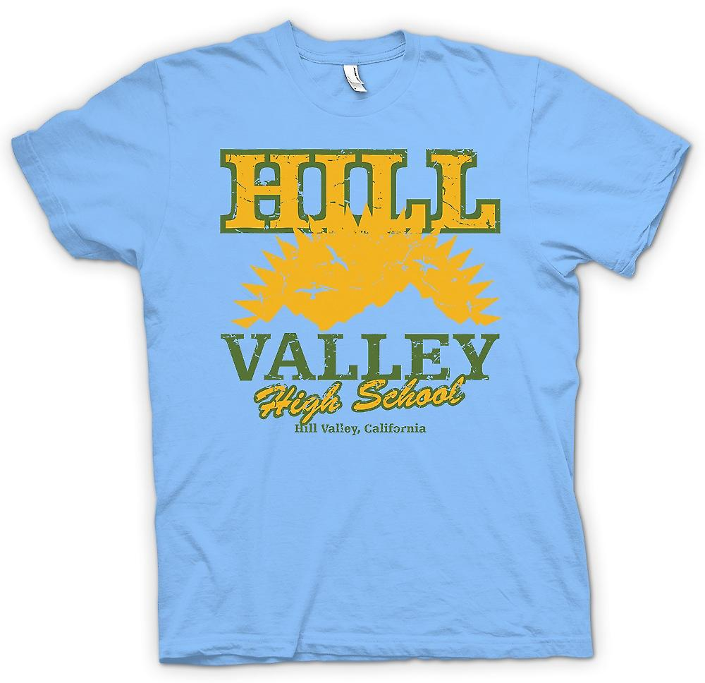 Camiseta para hombre - Hill Valley High School - regreso al futuro inspirado