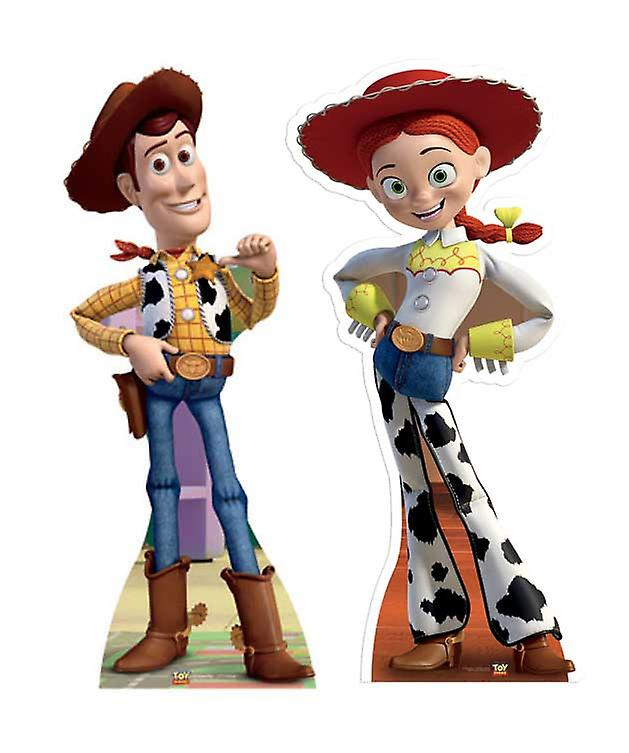 Woody and Jessie Toy Story Lifesize Cardboard Cutout / Standee Set