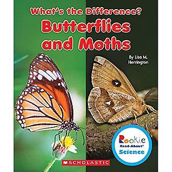 Borboletas e mariposas (novato Leia-sobre ciência: Qual é a diferença?)