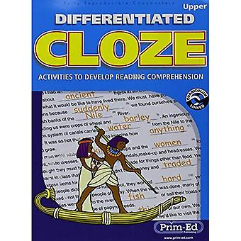 Differentiated Cloze: Activities to Develop Reading Comprehension (Upper)