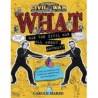 Quelle a été la guerre civile tout à propos de toute façon?