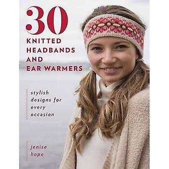 30 stickade pannband och örat värmare: eleganta design för varje tillfälle