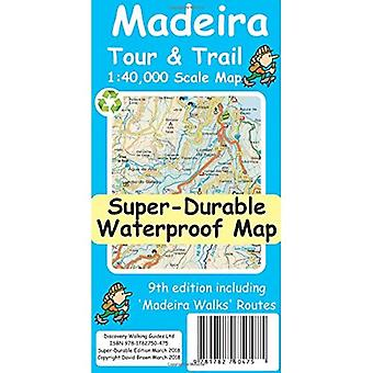Madeira Tour & Trail Super-Durable Map