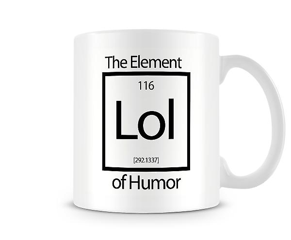 Lol The Element Of Humor Mug