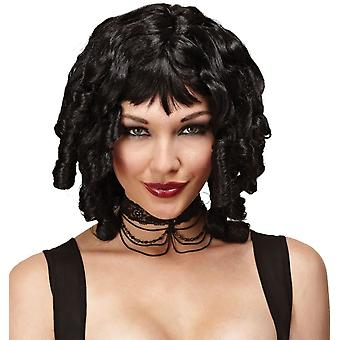 Ghost Doll Black Wig For Women