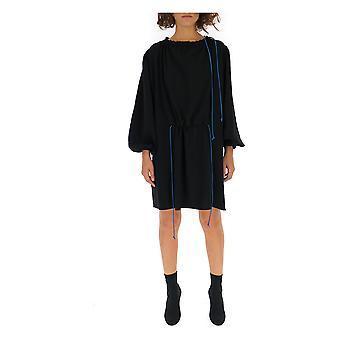 Loewe Blue Cotton Dress