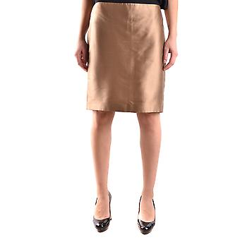John Richmond Gold Silk Skirt