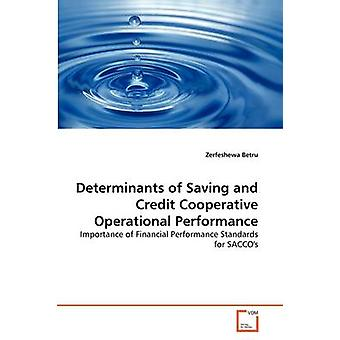 Determinants of Saving and Credit Cooperative Operational Performance by Betru & Zerfeshewa