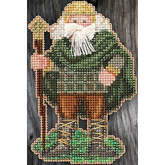 Mill Hiill Celtic Santas Counted Cross Stitch Kit 3
