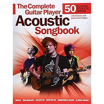 Complete Guitar Player - Acoustic Songbook - 9781783055364 Book