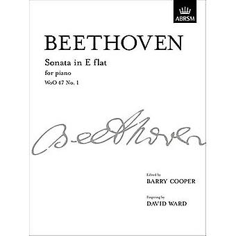 Sonata in E Flat - Woo 47 No. 1 - From Vol. I by Ludwig van Beethoven
