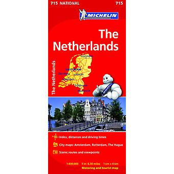 The Netherlands National Map 715 - 9782067170674 Book