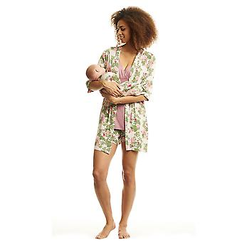 Adalia 5-Pc Nursing PJ Short Set with Baby Gown & Gift Bag
