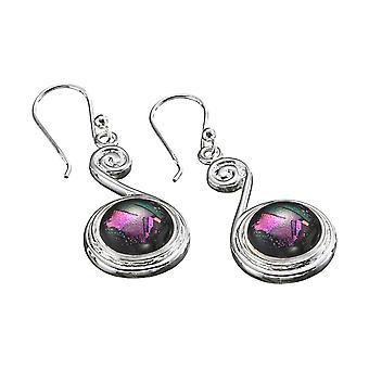KAMELEON JewelPop Top Scroll Sterling Silver Earrings KE15