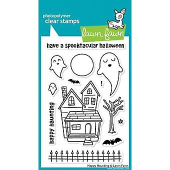 Lawn Fawn Clear Stamps Happy Haunting Clear Stamps (LF357)