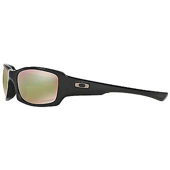 Oakley Fives Squared Polarized Polished Black/Prizm Shallow Water Mens Sunglasses - OO9238-923818