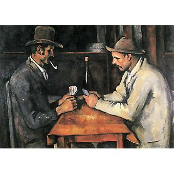 Card players,Paul Cezanne,47.5x57cm