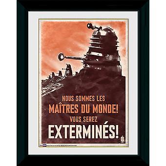 Doctor Who Daleks Framed Collector Print 40x30cm