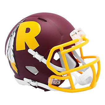 Riddell Speed Mini Football Helm - AMP Washington Redskins