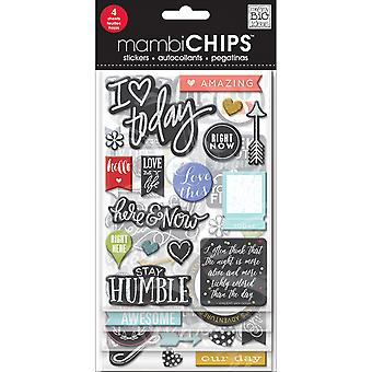 Chipboard Value Pack-Chalk-Colored Amazing CBVX50