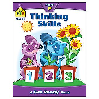 Preschool Workbooks 32 Pages Thinking Skills Szpresch 02068