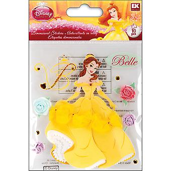 Disney Dimensional Sticker Belle E5120020