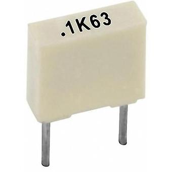 PET capacitor Radial lead 22 nF 100 V 10 % 5 mm (L x W x H) 7.2 x 2.5 x 6.5 Kemet R82EC2220AA50K+ 1 pc(s)