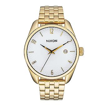 Nixon The Bullet Gold weiss (A418508)