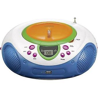 Kids CD player Lenco SCD-40 USB Kids AUX, CD, FM, USB