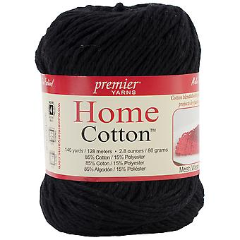 Home Cotton Yarn - Solid-Black 38-16
