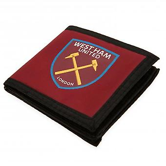 West Ham United Canvas Wallet