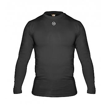 Warrior long sleeve comp top black functional underwear, senior