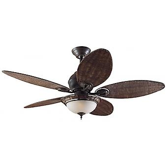 "Ceiling Fan Caribbean Breeze 137 cm / 54"" with lighting"