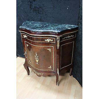 Baroque sideboard antique style chest of drawers marble Baroque antique style LouisXV MkBa0040Gn