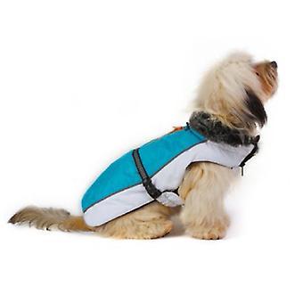 Dog Gone Smart Aspen jakker Aqua / hvid 20
