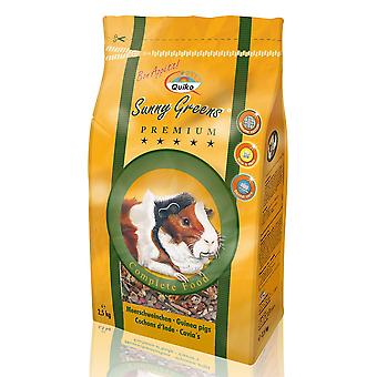 Quiko Guinea Pig Sunny Greens Complete Food 2.5kg