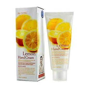 3W klinik hånd creme - citron - 100ml / 3.38 oz