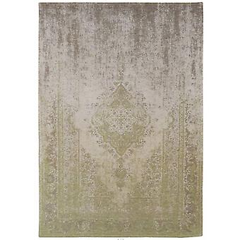 Distressed Pear Cream Medallion Flatweave Rug  230 x 230 - Louis de Poortere
