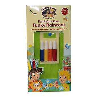 Little Pals Paint Your Own Funky Raincoat for 3-5 yrs+