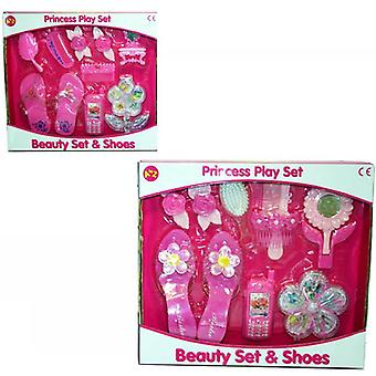 Princess Playset Beauty Set & Shoes Pink Kids Toy Activity