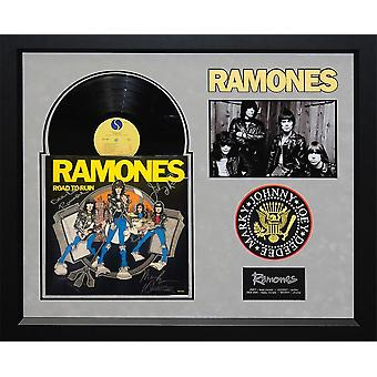 The Ramones - Road to Ruin - Signed Album