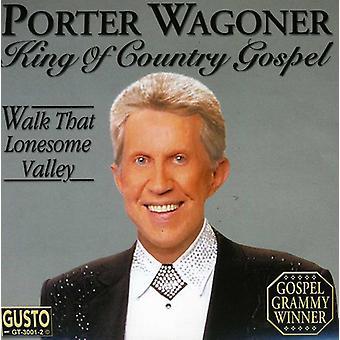 Porter Wagoner - konge af landet evangelium [CD] USA import