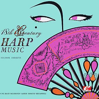 Nicanor Zabaleta - 18th Century harpemusikk [DVD] USA import