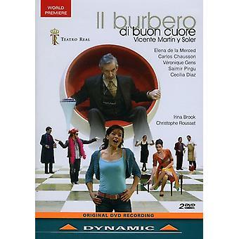 Importación de los E.e.u.u. II Burbero Di Buon Cuore [DVD]